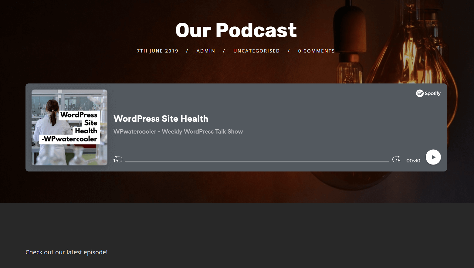 How to Add Your Podcast Audio Embeds to WordPress