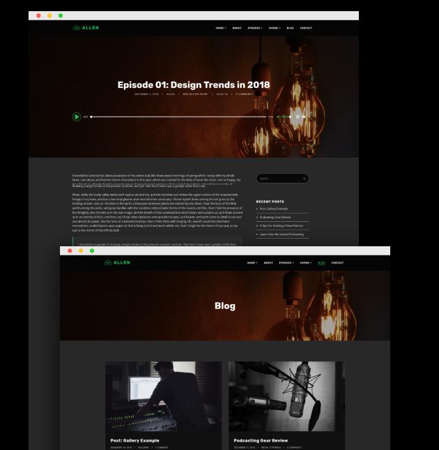 Tusant WordPress Theme